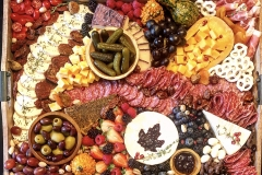 Fall Spread - Brie with Honey fig jam